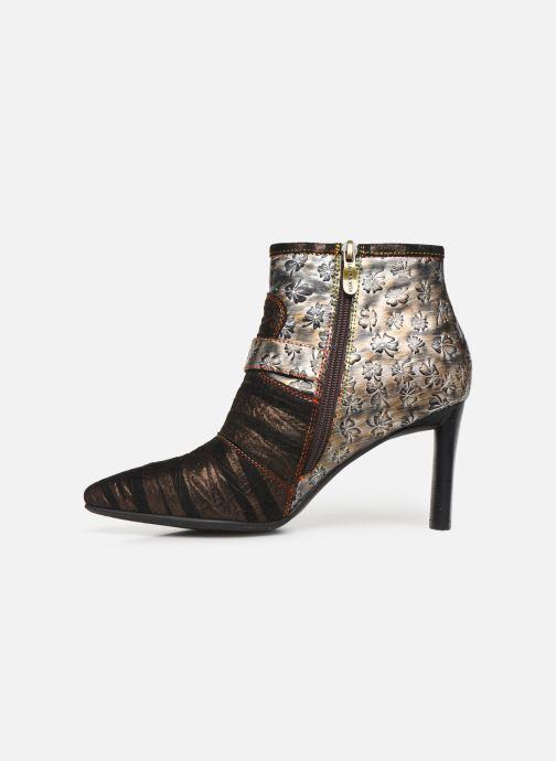 Bottines et boots Laura Vita GECNIEO 05 Or et bronze vue face