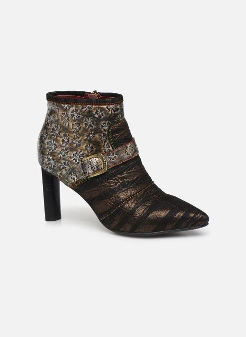Bottines et boots Laura Vita GECNIEO 05 Or et bronze vue détail/paire