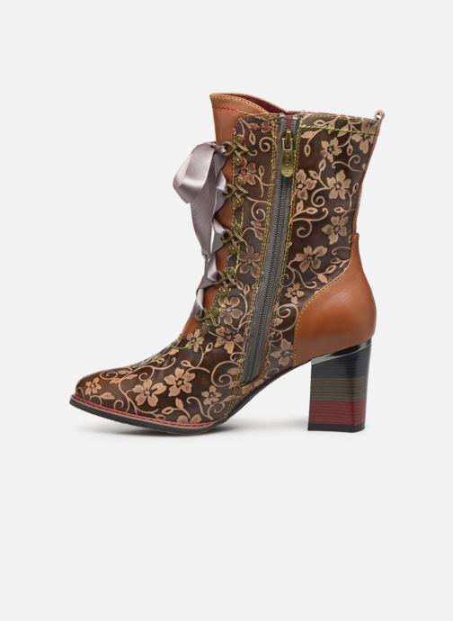 Boots en enkellaarsjes Laura Vita GECEKO 04 Bruin voorkant