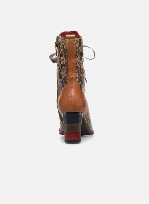 Boots en enkellaarsjes Laura Vita GECEKO 04 Bruin rechts