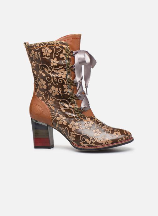 Boots en enkellaarsjes Laura Vita GECEKO 04 Bruin achterkant