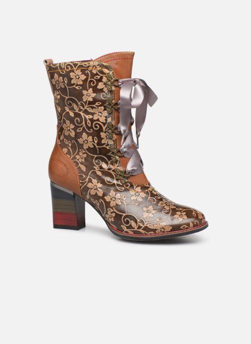 Boots en enkellaarsjes Laura Vita GECEKO 04 Bruin detail