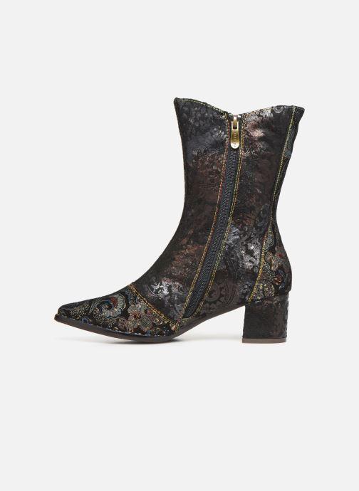 Boots en enkellaarsjes Laura Vita GUCGUSO 01 Zwart voorkant