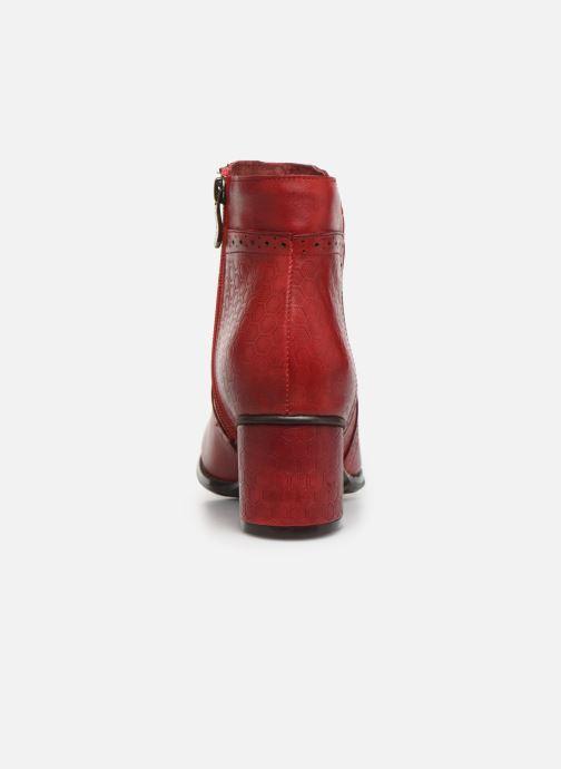 Bottines et boots Laura Vita GICNO 32 Rouge vue droite