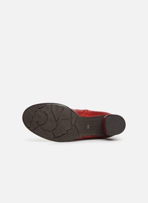 Bottines et boots Laura Vita GICNO 32 Rouge vue haut
