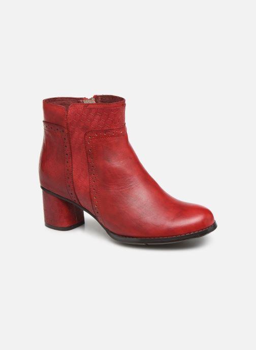 Bottines et boots Laura Vita GICNO 32 Rouge vue détail/paire