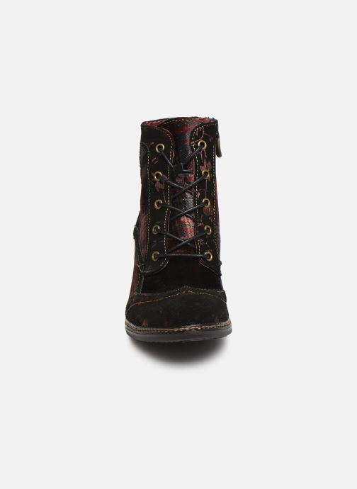 Bottines et boots Laura Vita ALCIZEEO 01 Bordeaux vue portées chaussures