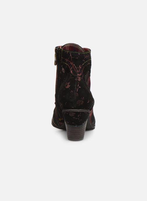 Bottines et boots Laura Vita ALCIZEEO 01 Bordeaux vue droite