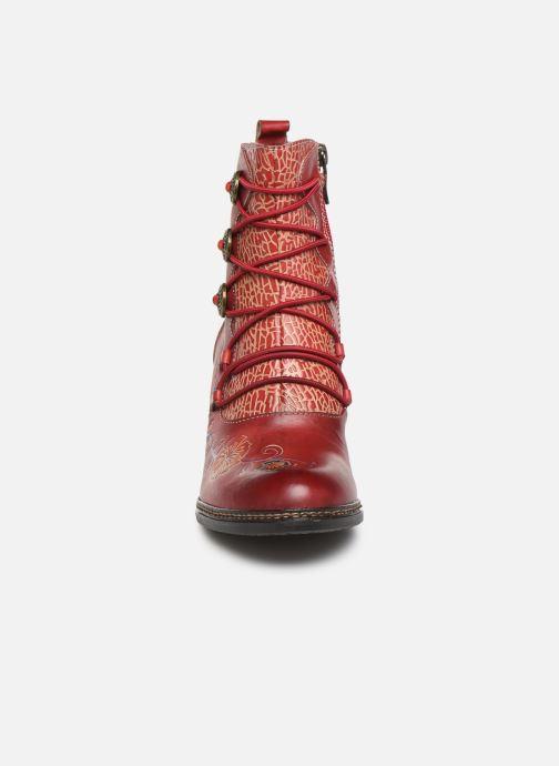 Bottines et boots Laura Vita ALCIZEEO 04 Rouge vue portées chaussures