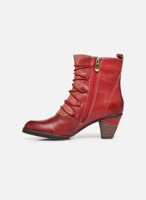 Bottines et boots Laura Vita ALCIZEEO 04 Rouge vue face