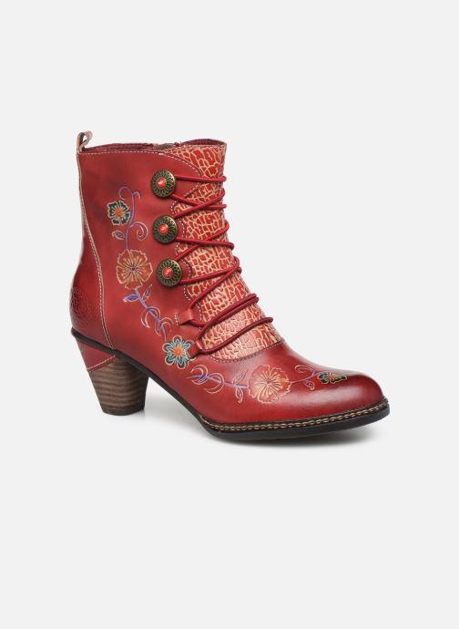 Bottines et boots Laura Vita ALCIZEEO 04 Rouge vue détail/paire