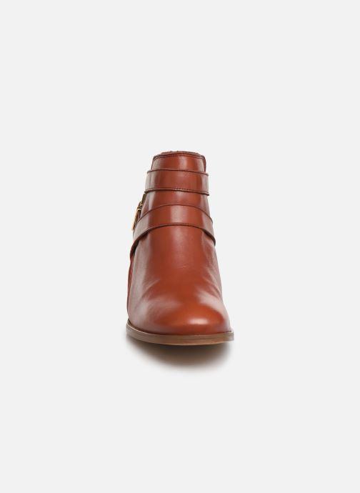 Bottines et boots Georgia Rose Catila Rouge vue portées chaussures