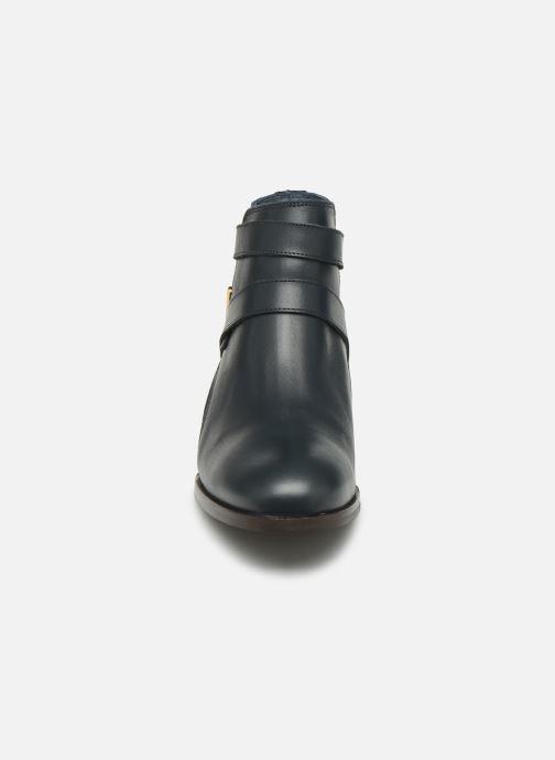 Bottines et boots Georgia Rose Catila Bleu vue portées chaussures
