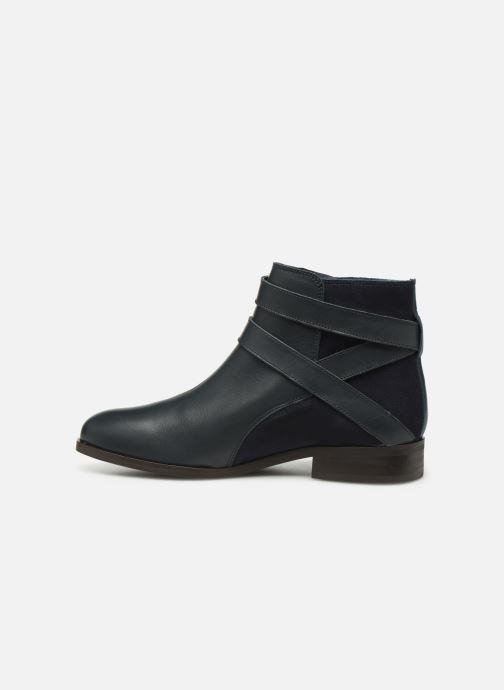 Bottines et boots Georgia Rose Catila Bleu vue face