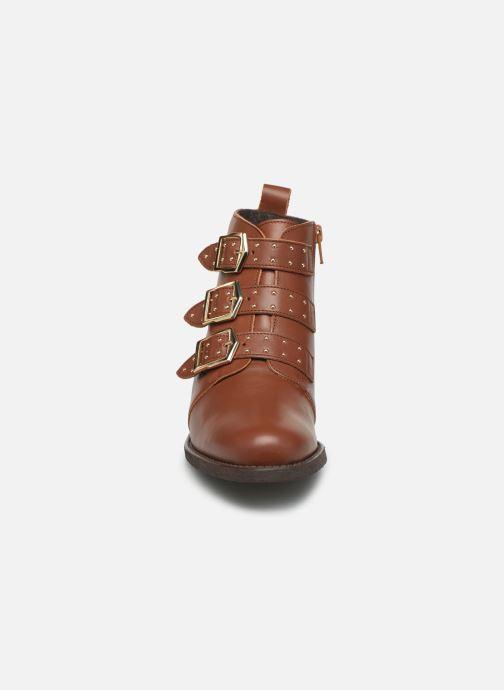 Bottines et boots Georgia Rose Carmilo N Marron vue portées chaussures