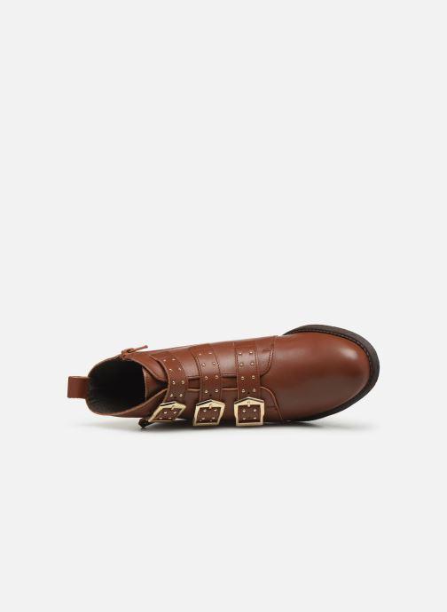 Stiefeletten & Boots Georgia Rose Carmilo braun ansicht von links