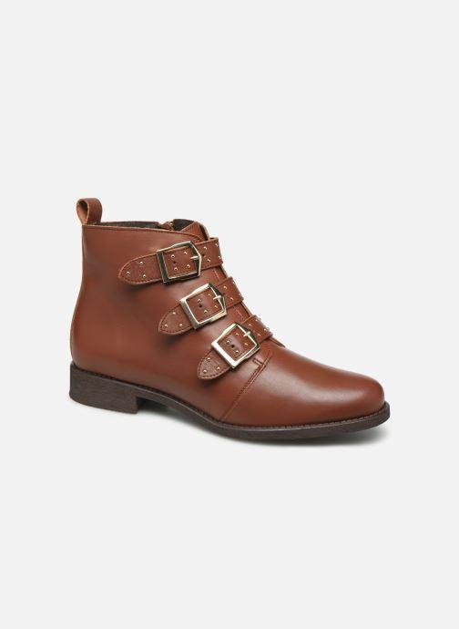 Stiefeletten & Boots Georgia Rose Carmilo braun detaillierte ansicht/modell