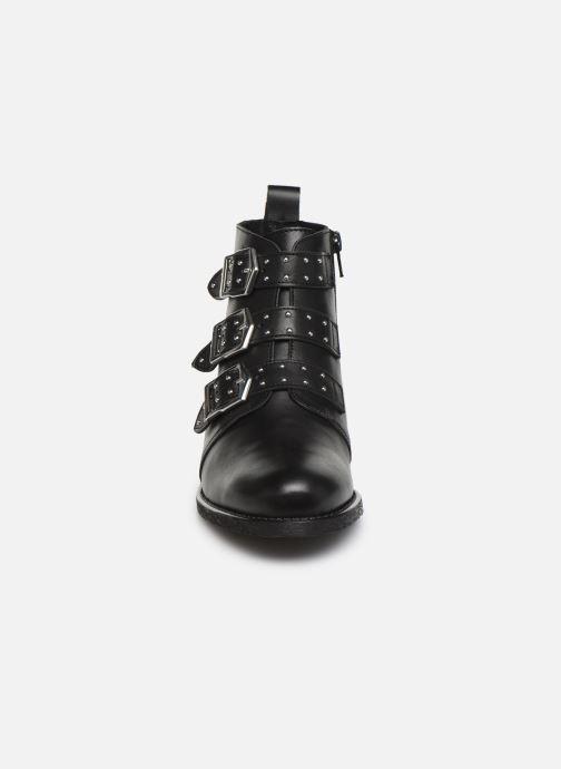 Bottines et boots Georgia Rose Carmilo Noir vue portées chaussures