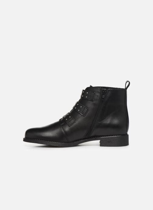 Bottines et boots Georgia Rose Carmilo Noir vue face
