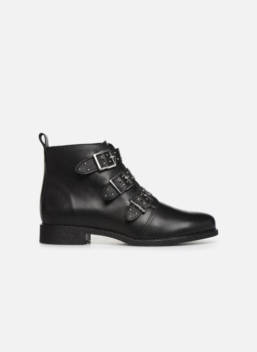 Bottines et boots Georgia Rose Carmilo Noir vue derrière