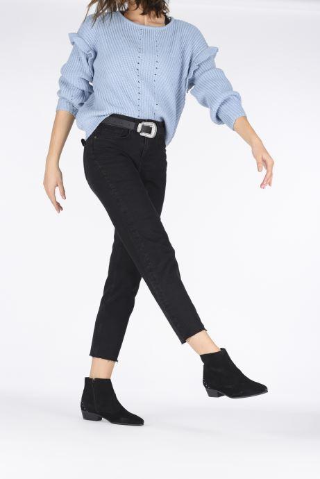 Stiefeletten & Boots Georgia Rose Cloutilo schwarz ansicht von unten / tasche getragen