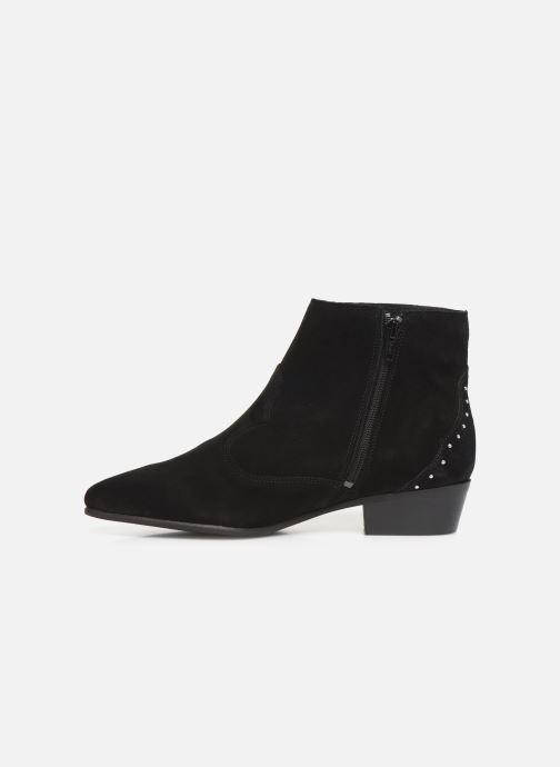 Bottines et boots Georgia Rose Cloutilo Noir vue face