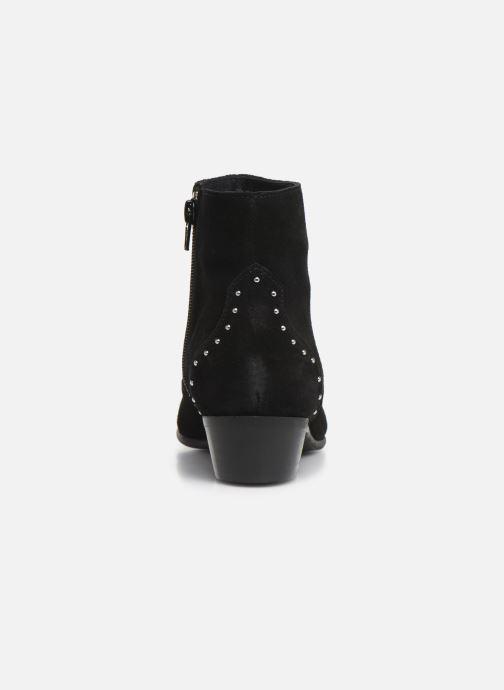 Bottines et boots Georgia Rose Cloutilo Noir vue droite