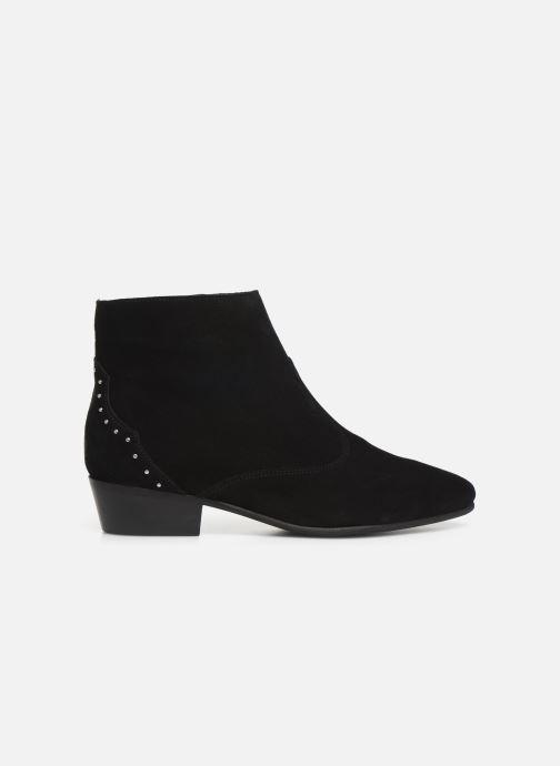 Bottines et boots Georgia Rose Cloutilo Noir vue derrière