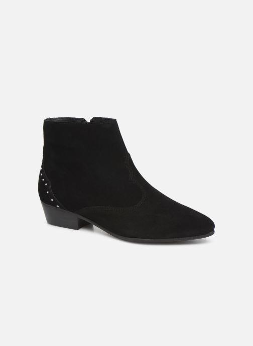 Ankelstøvler Georgia Rose Cloutilo Sort detaljeret billede af skoene