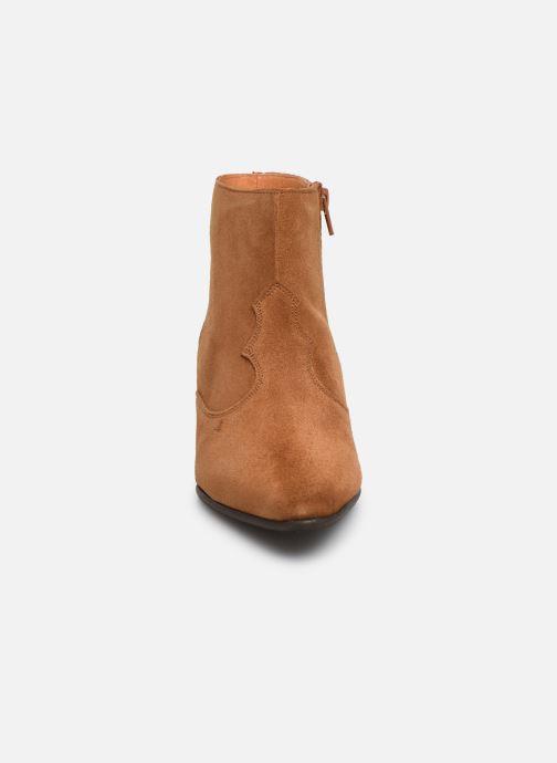 Bottines et boots Georgia Rose Cloutilo Marron vue portées chaussures
