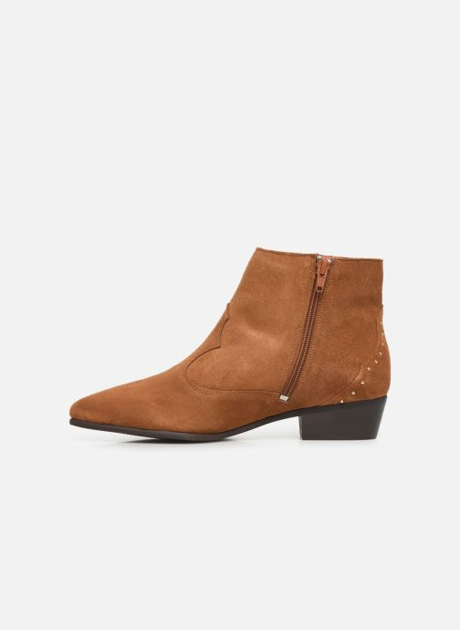 Bottines et boots Georgia Rose Cloutilo Marron vue face