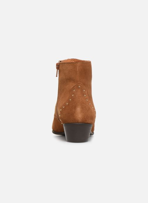 Ankle boots Georgia Rose Cloutilo Brown view from the right