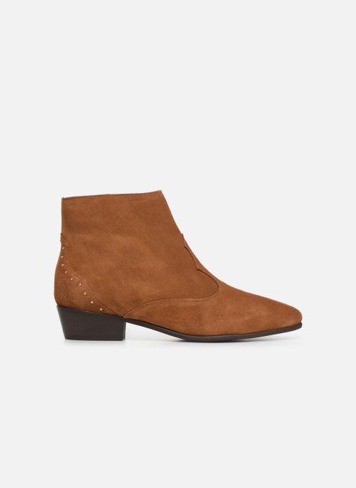 Bottines et boots Georgia Rose Cloutilo Marron vue derrière