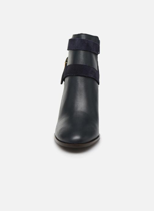 Bottines et boots Georgia Rose Cerufa Bleu vue portées chaussures