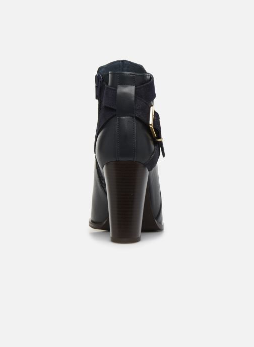 Bottines et boots Georgia Rose Cerufa Bleu vue droite