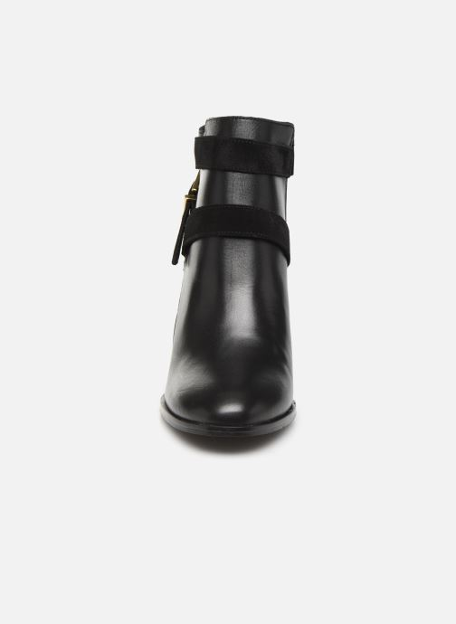 Bottines et boots Georgia Rose Cerufa Noir vue portées chaussures