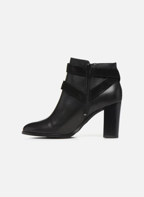 Bottines et boots Georgia Rose Cerufa Noir vue face