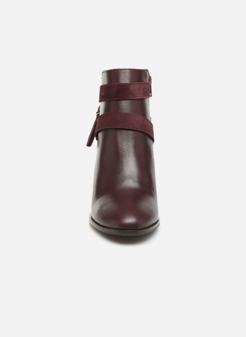 Bottines et boots Georgia Rose Cerufa Bordeaux vue portées chaussures