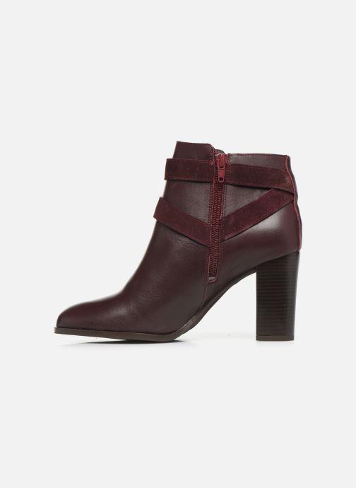 Bottines et boots Georgia Rose Cerufa Bordeaux vue face