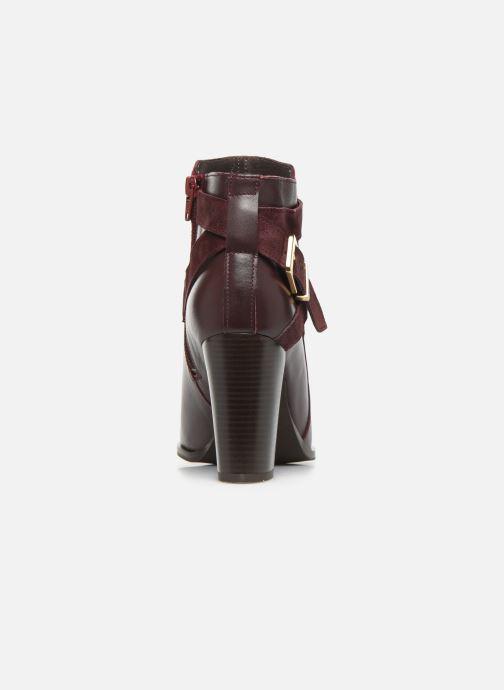 Bottines et boots Georgia Rose Cerufa Bordeaux vue droite