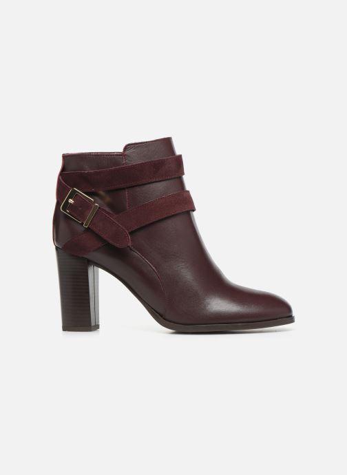 Bottines et boots Georgia Rose Cerufa Bordeaux vue derrière