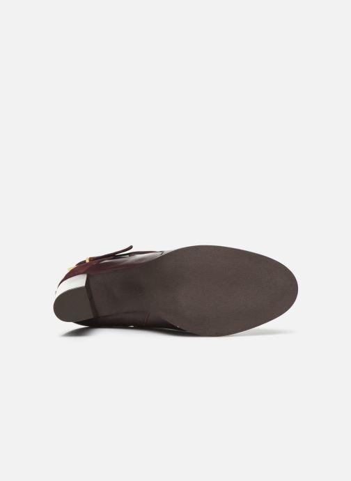 Boots en enkellaarsjes Georgia Rose Cerufa Bordeaux boven