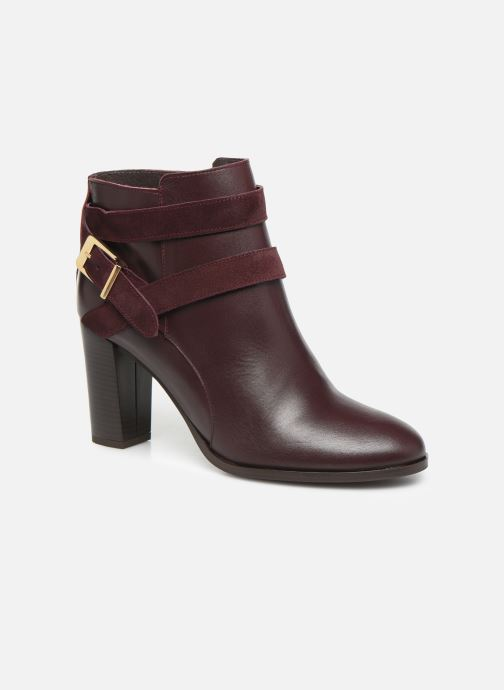Bottines et boots Georgia Rose Cerufa Bordeaux vue détail/paire