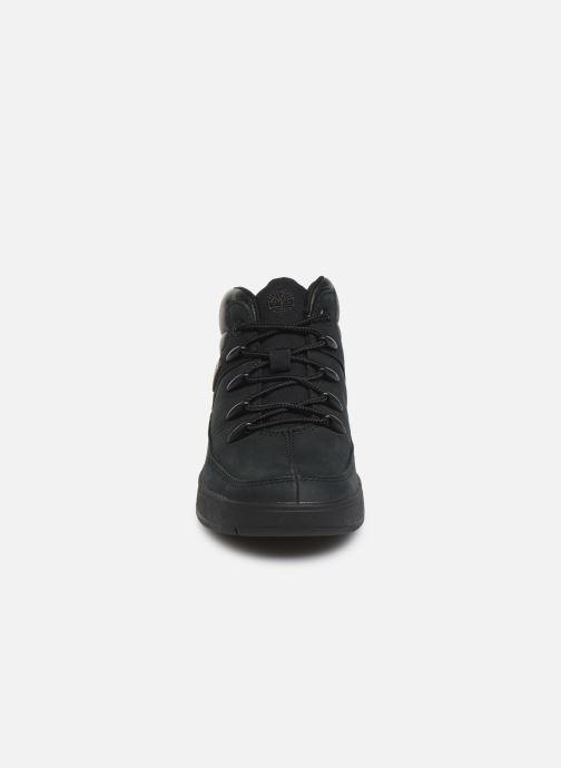 Bottines et boots Timberland Davis Square Eurosprint Noir vue portées chaussures