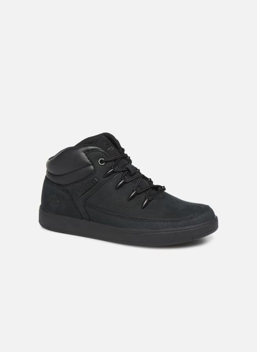 Ankelstøvler Timberland Davis Square Eurosprint Sort detaljeret billede af skoene