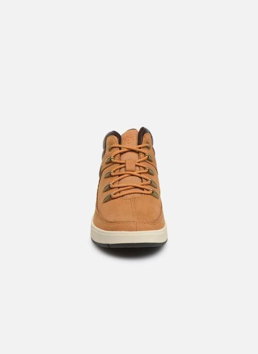 Bottines et boots Timberland Davis Square Eurosprint Marron vue portées chaussures