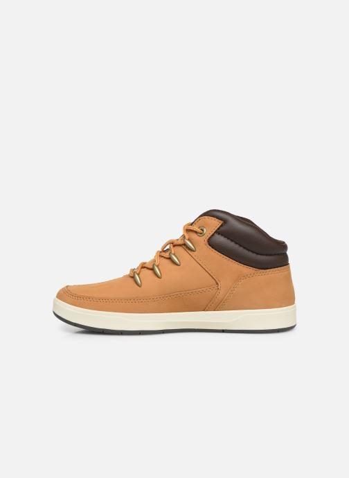Boots en enkellaarsjes Timberland Davis Square Eurosprint Bruin voorkant
