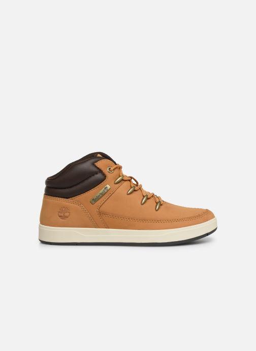 Boots en enkellaarsjes Timberland Davis Square Eurosprint Bruin achterkant