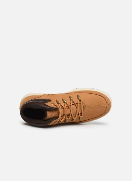 Boots en enkellaarsjes Timberland Davis Square Eurosprint Bruin links