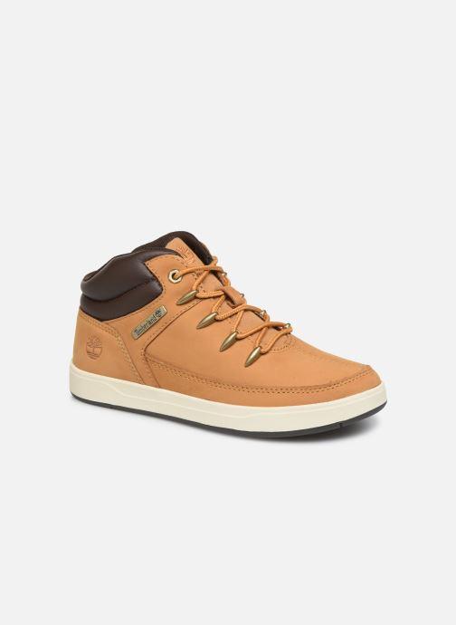 Bottines et boots Timberland Davis Square Eurosprint Marron vue détail/paire